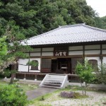 A photo of gyokuryuji temple in japan, where the group stayed during the Japan trip.