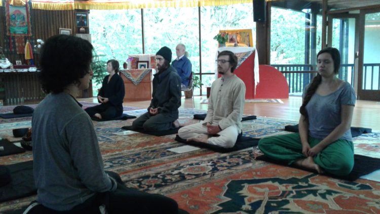 Summer Zen Retreat in Eugene, Oregon. Blue Cliff Zen Center.